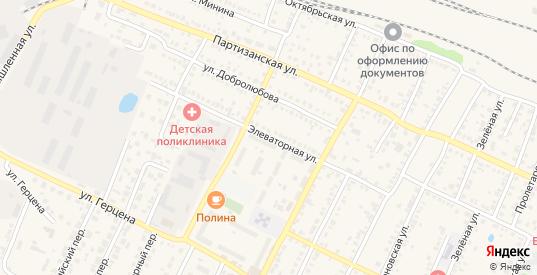 Элеваторная улица в Кинеле с номерами домов на карте. Спутник и схема онлайн