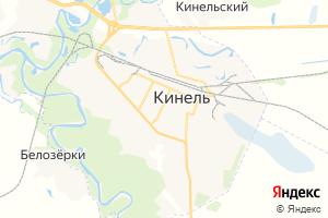 Карта г. Кинель