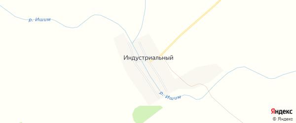 Карта Индустриального поселка в Татарстане с улицами и номерами домов