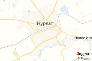 Карта г. Нурлат