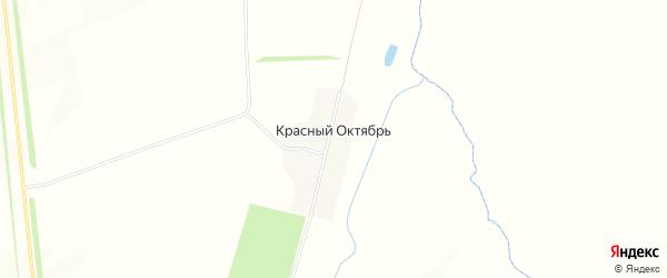 Карта поселка Красного Октября в Татарстане с улицами и номерами домов