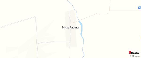 Карта поселка Михайловки в Татарстане с улицами и номерами домов