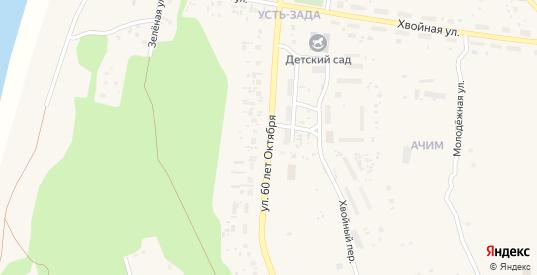 Улица 60 лет Октября в Емве с номерами домов на карте. Спутник и схема онлайн