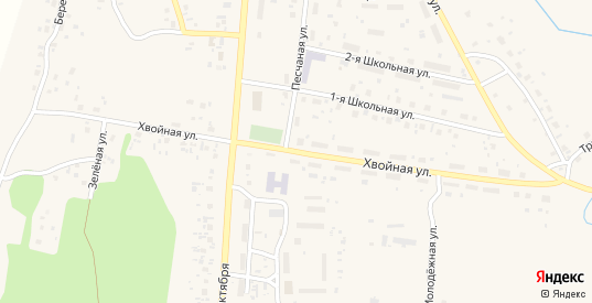 Хвойная улица в Емве с номерами домов на карте. Спутник и схема онлайн