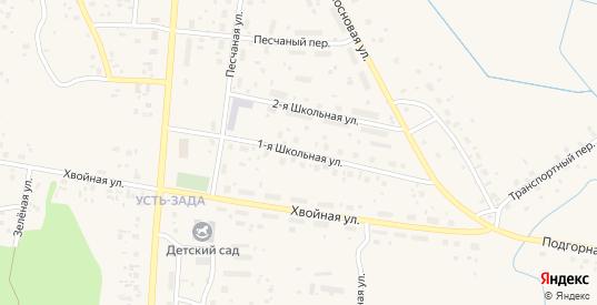 Школьная улица в Емве с номерами домов на карте. Спутник и схема онлайн