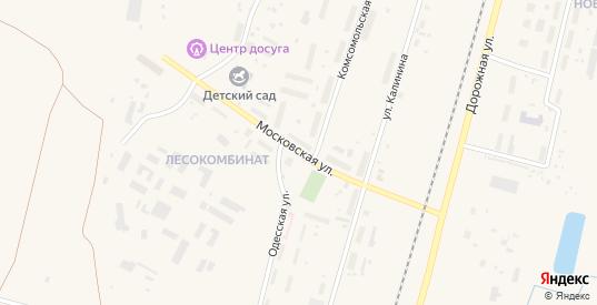 Московская улица в Емве с номерами домов на карте. Спутник и схема онлайн