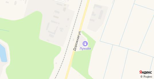 Дорожная улица в Емве с номерами домов на карте. Спутник и схема онлайн