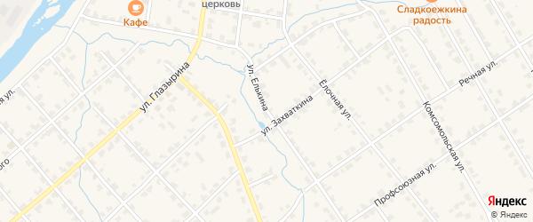 Улица Елькина на карте Белой Холуницы с номерами домов