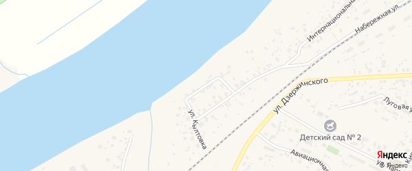 Улица Кылтовка на карте Емвы с номерами домов