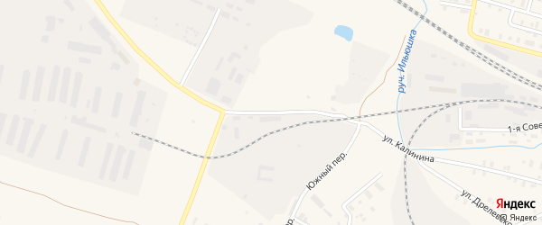 Улица Калинина на карте Зуевки с номерами домов