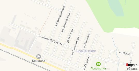 Улица Павлова в Зуевке с номерами домов на карте. Спутник и схема онлайн