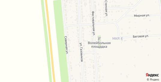 Улица Газовиков в Нефтегорске с номерами домов на карте. Спутник и схема онлайн
