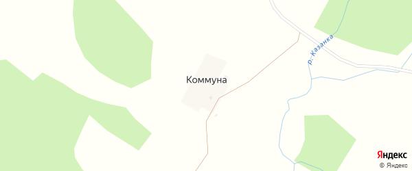 Луговая улица на карте починка Коммуна Удмуртии с номерами домов