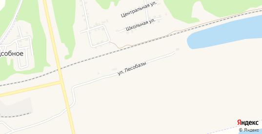Улица Лесобазы в Сосновке с номерами домов на карте. Спутник и схема онлайн