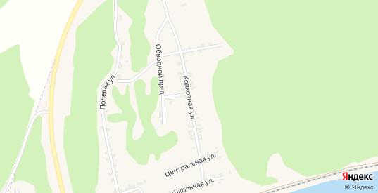 Колхозная улица в Сосновке с номерами домов на карте. Спутник и схема онлайн