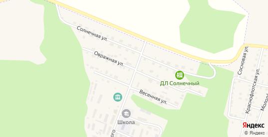 Овражная улица в Сосновке с номерами домов на карте. Спутник и схема онлайн