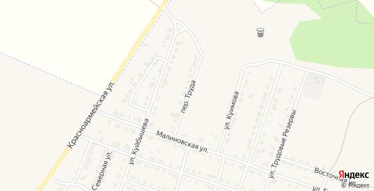 Переулок Труда в Сосновке с номерами домов на карте. Спутник и схема онлайн