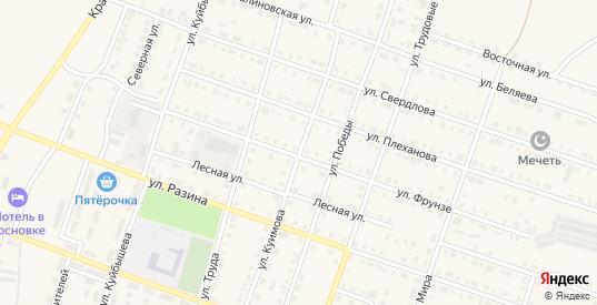 Улица Куимова в Сосновке с номерами домов на карте. Спутник и схема онлайн