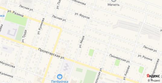 Улица Мира в Сосновке с номерами домов на карте. Спутник и схема онлайн