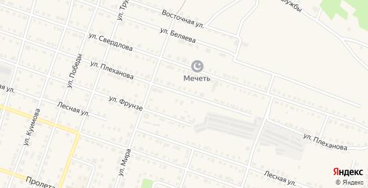 Улица Плеханова в Сосновке с номерами домов на карте. Спутник и схема онлайн