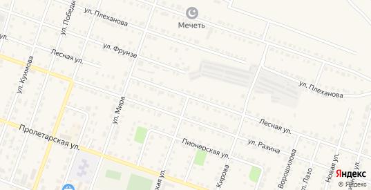 Лесная улица в Сосновке с номерами домов на карте. Спутник и схема онлайн