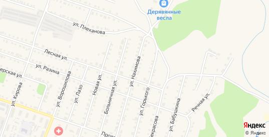 Улица Нахимова в Сосновке с номерами домов на карте. Спутник и схема онлайн