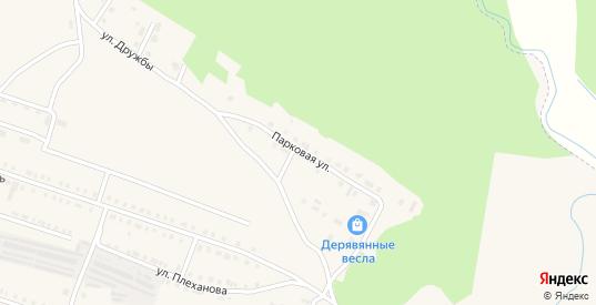 Парковая улица в Сосновке с номерами домов на карте. Спутник и схема онлайн