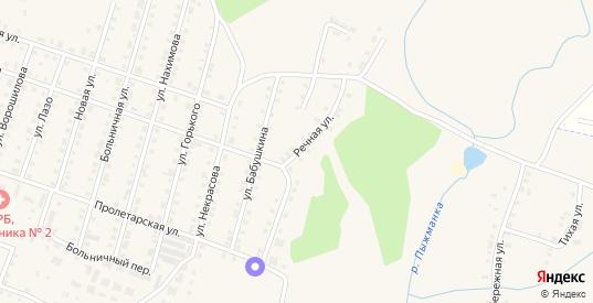Речная улица в Сосновке с номерами домов на карте. Спутник и схема онлайн