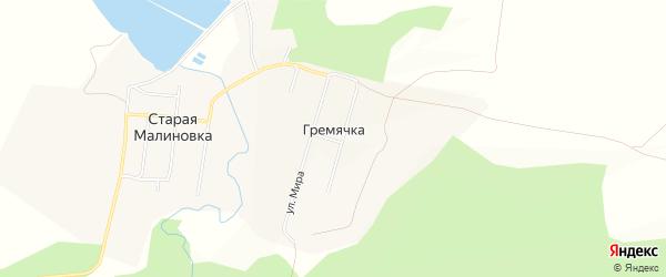 Территория сдт Заречный на карте Вятскополянского района Кировской области с номерами домов