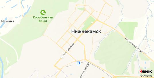 Карта Нижнекамска с улицами и домами подробная. Показать со спутника номера домов онлайн