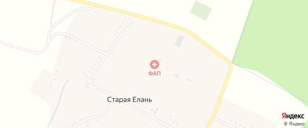 Казанская улица на карте деревни Старой Елани Татарстана с номерами домов
