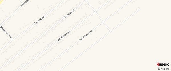 Улица В.Мишина на карте Заинска с номерами домов