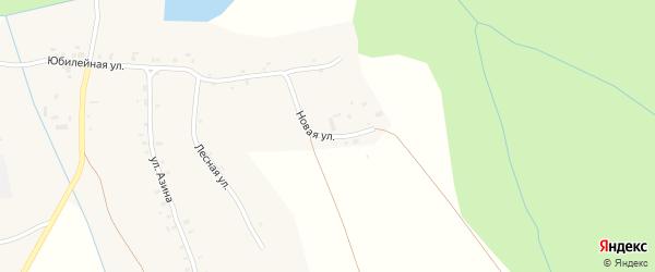 Новая улица на карте деревни Котловки Удмуртии с номерами домов