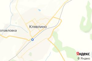 Карта ст. Клявлино Самарская область