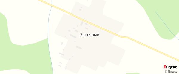 Заречная улица на карте Заречного поселка Кировской области с номерами домов