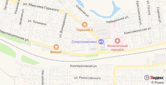 Заводской переулок в Похвистнево с номерами домов на карте. Спутник и схема онлайн
