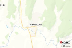 Карта с. Камышла