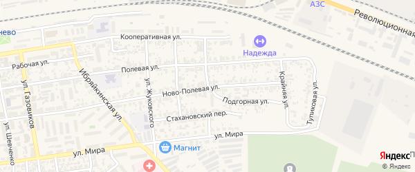 Улица Осипенко на карте Похвистнево с номерами домов