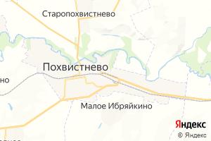 Карта г. Похвистнево Самарская область