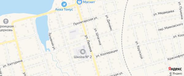 Улица Халтурина на карте Омутнинска с номерами домов