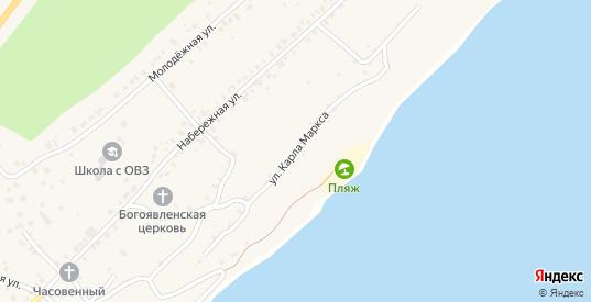 Улица Карла Маркса в Менделеевске с номерами домов на карте. Спутник и схема онлайн
