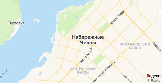 Карта Набережных Челнов с улицами и домами подробная. Показать со спутника номера домов онлайн