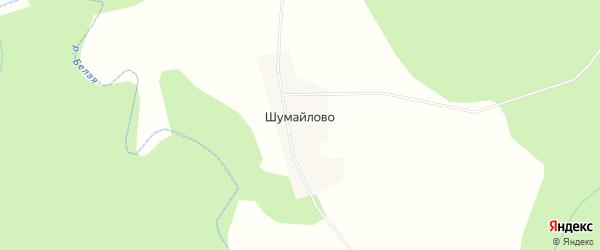 Карта деревни Шумайлово в Кировской области с улицами и номерами домов