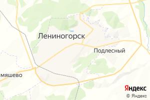 Карта г. Лениногорск