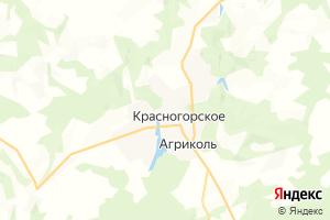 Карта с. Красногорское Удмуртская Республика