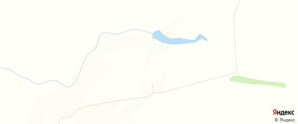Карта поселка Новые Прудов в Оренбургской области с улицами и номерами домов