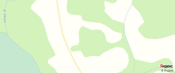 Карта Кармановской деревни в Кировской области с улицами и номерами домов