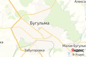 Карта г. Бугульма