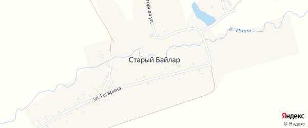 Нагорная 2-я улица на карте деревни Старого Байлара Татарстана с номерами домов