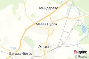 Карта с. Малая Пурга
